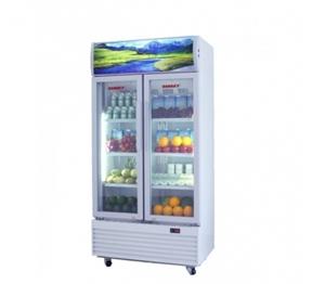 Tủ mát Sanaky hai cánh dàn lạnh đồng VH-609HP