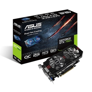 Asus 2GB GTX750TI-OC-2GD5