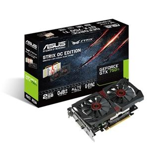 Asus 2GB Strix GTX750TI-OC-2GD5