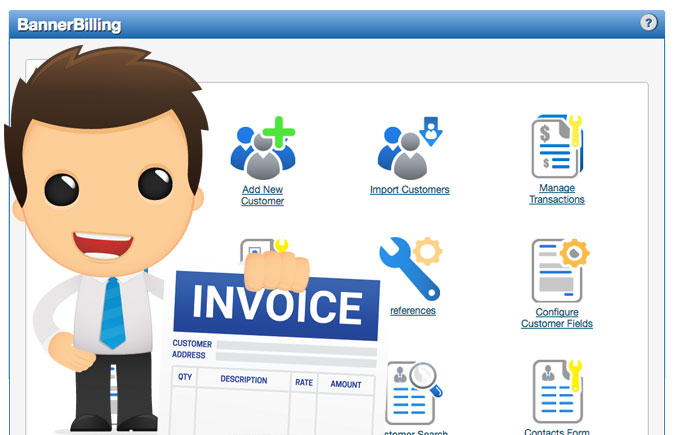 Quản lý danh sách hóa đơn
