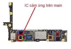 Thay ic Cảm ứng Iphone 6 và 6 plus